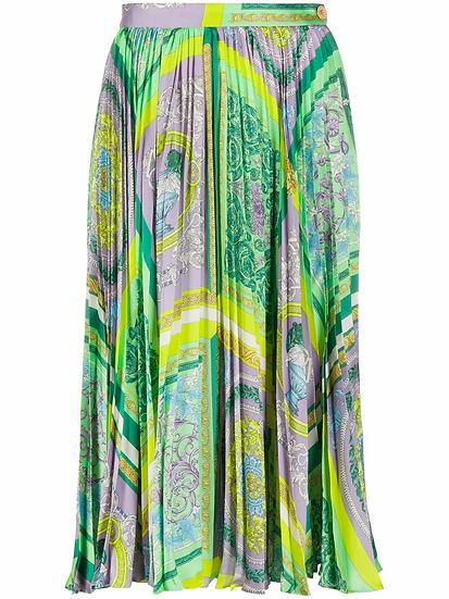 Versace - falda estampado barocco