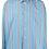 Thumbnail: striped embroidered logo shirt