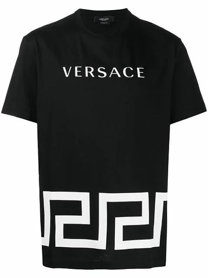 Versace - t-shirt logo estampado