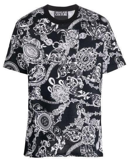 Versace Jeans Couture - camiseta con estampado Barocco