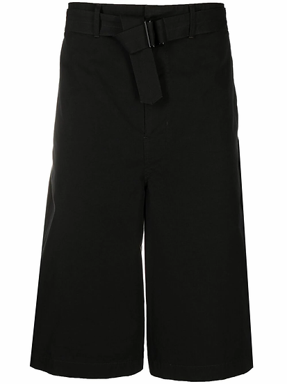dropped-rise bermuda shorts