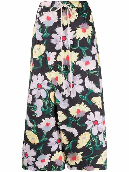 Marni - pantalón estampado floral