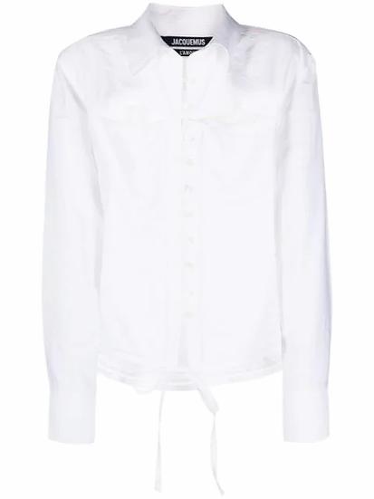 White Nappe shirt