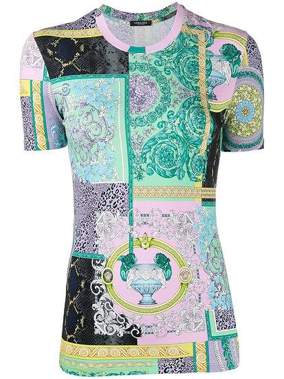 Versace - top patchwork
