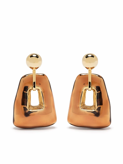 Marni - rounded design earrings