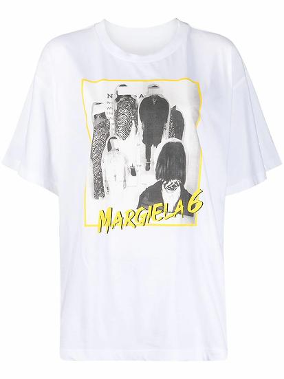 MM6 Maison Margiela - t-shirt estampado gráfico