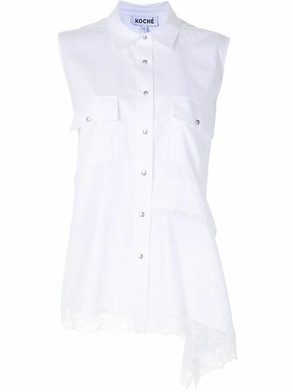 Koché - blusa asimétrica