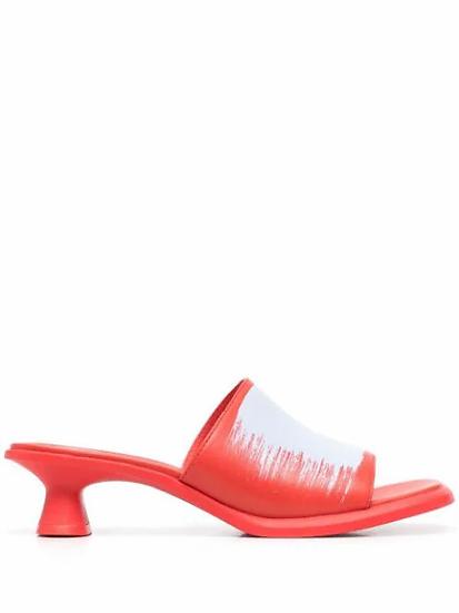 CamperLab - sandalias estampado pincelada