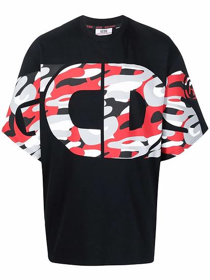 GCDS - logo-print cotton T-shirt
