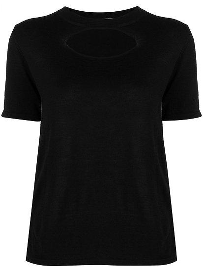 Marni - t-shirt punto abertura