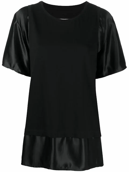 MM6 Maison Margiela - t-shirt a paneles