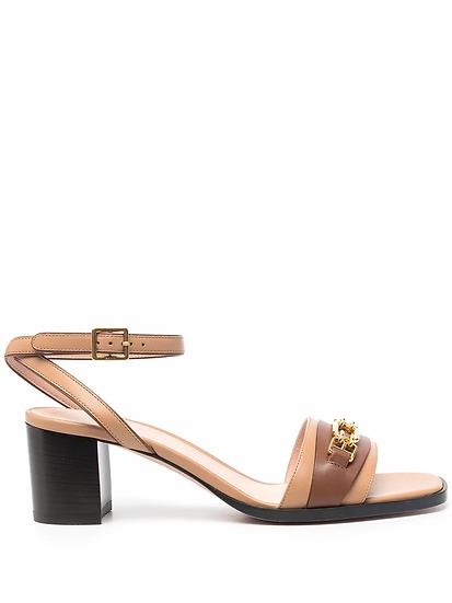 Square heel sandals