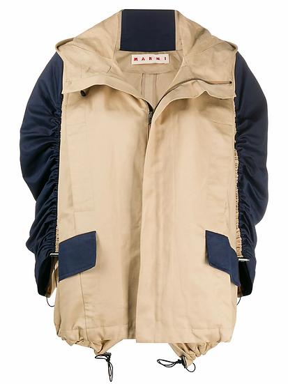 Marni - chaqueta manga contraste