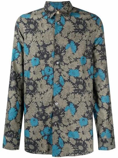 Paul Smith - Camisa con estampado floral