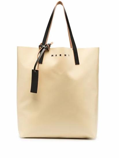 Marni - bolso shopper colour block
