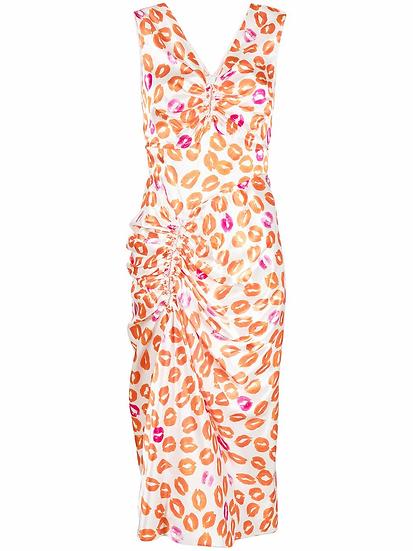 Marni - vestido estampado