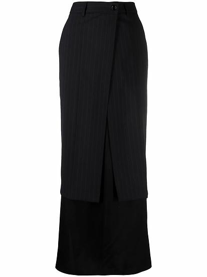MM6 Maison Margiela - falda a capas