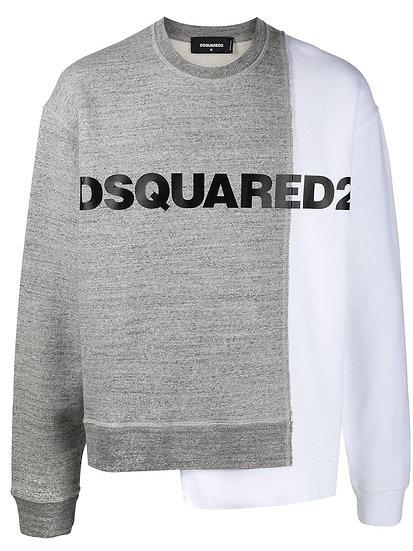 Dsquared2 - sudadera bicolor