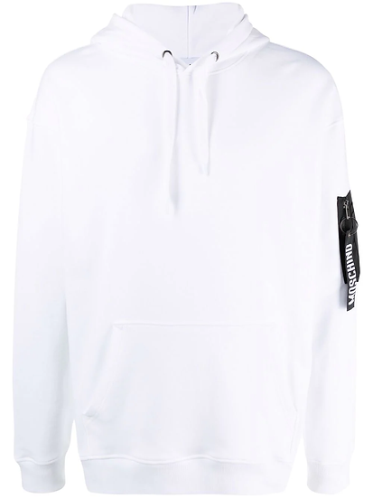 Moschino - hoodie with pocket