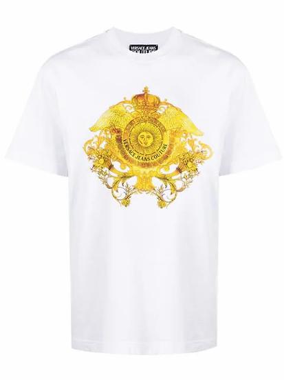 Versace Jeans  Couture -  t-shirt estampado gráfico