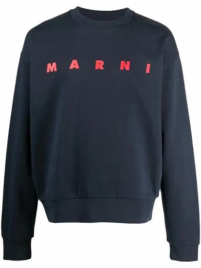 Marni - sudadera logo