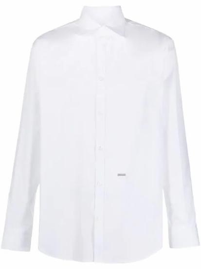 Dsquared2 - camisa con placa del logo