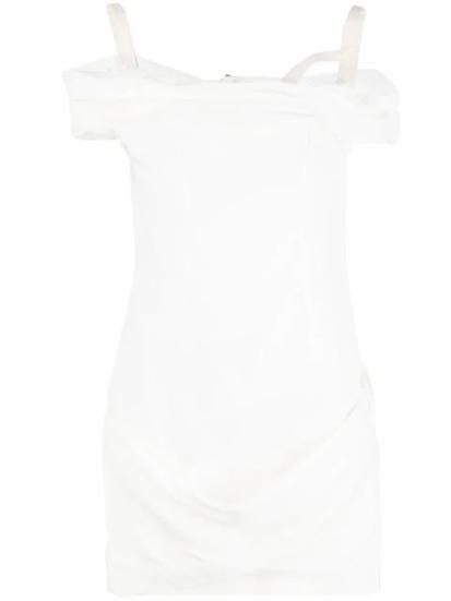 Jacquemus - vestido hombros descubiertos