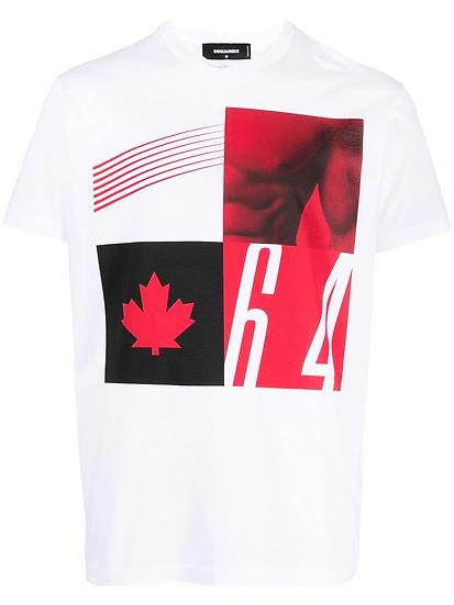 Dsquared2 - t-shirt estampada