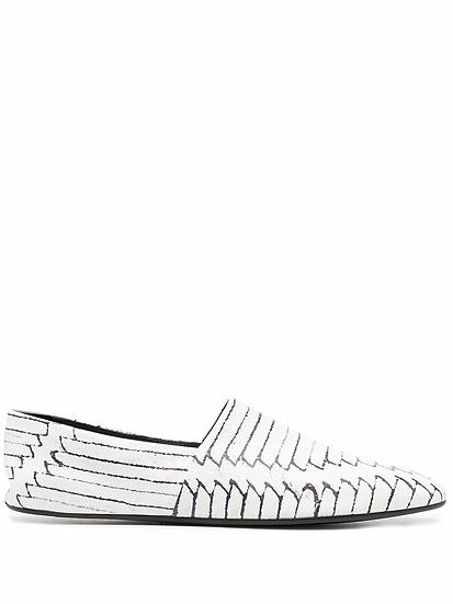 MM6 Maison Margiela - zapatos slip-on