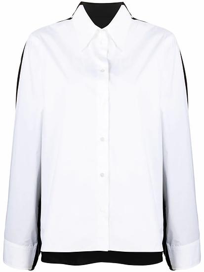 MM6 Maison Margiela - camisa de dos tonos