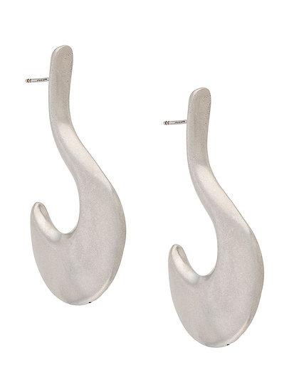 Marni - pendiente forma gancho