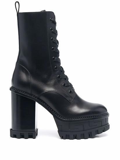 Versace - botas Greca plataforma