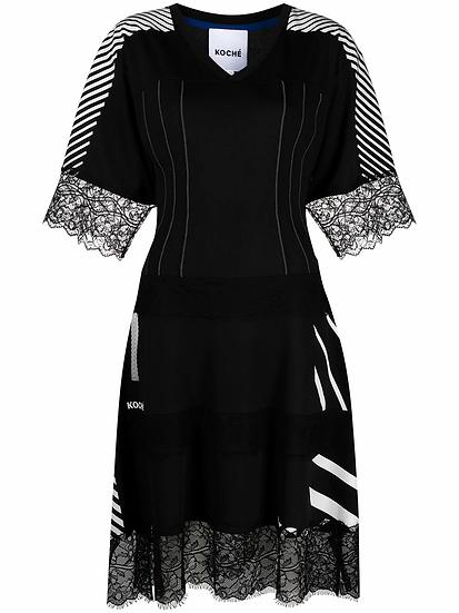 Koché - vestido diseño patchwork