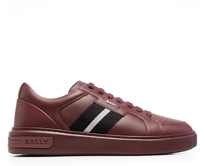Bally - striped detail sneakers