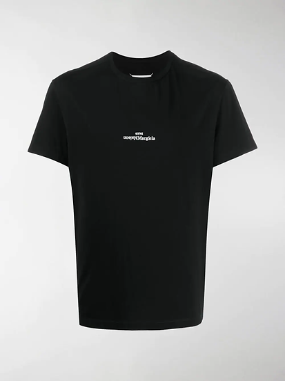 Maison Margiela - t-shirt logo bordado