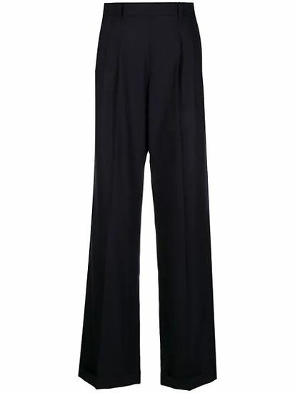 Maison Margiela - pantalón de vestir pinzas