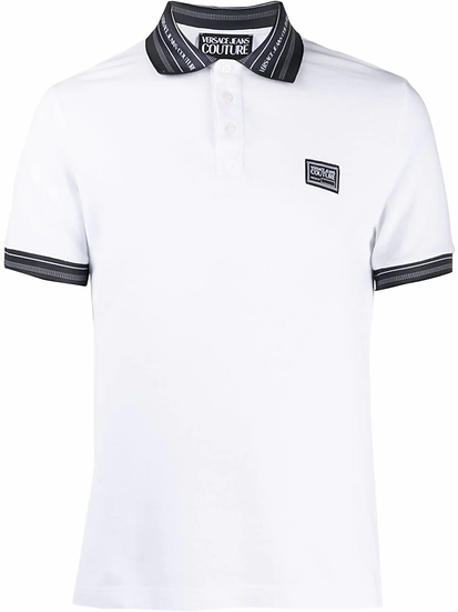 Versace Jeans  Couture -  polo contrast-trim