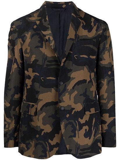 DONDUP - blazer estampado militar