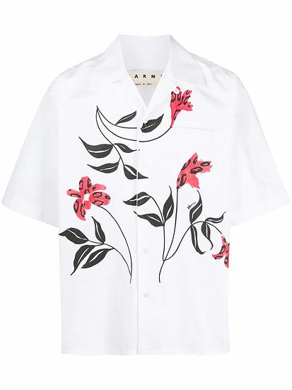 Marni - camisa con estampado floral