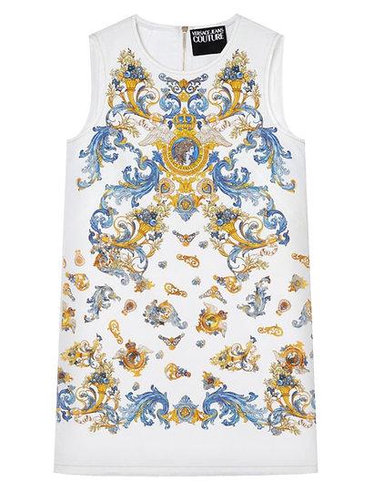 Versace Jeans  Couture -  vestido tubo estampado Versailles