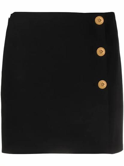 Versace - minifalda tiro alto