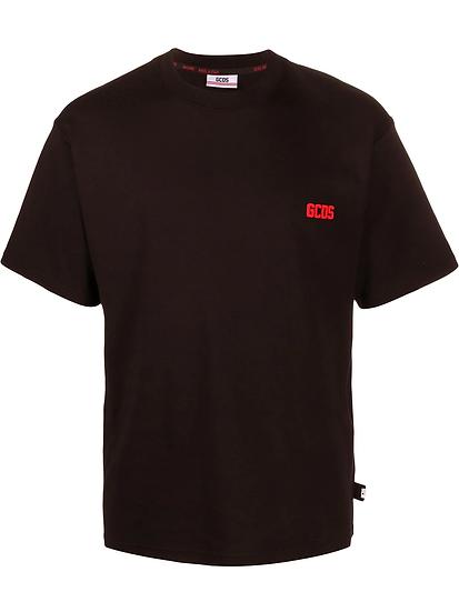 GCDS - round neck logo t-shirt