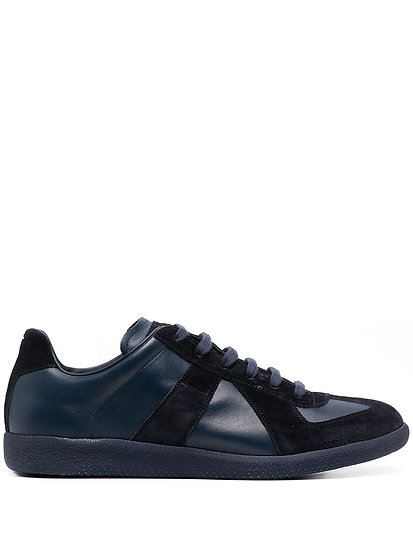 Replica blue low-top sneakers