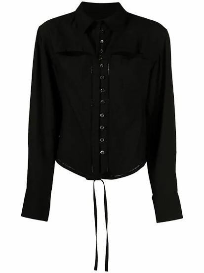 Jacquemus - camisa con cordones