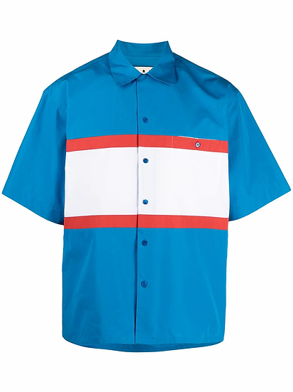 Marni - camisa diseño colour block