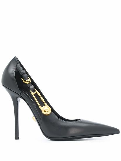Versace - zapatos tacón Safety Pin