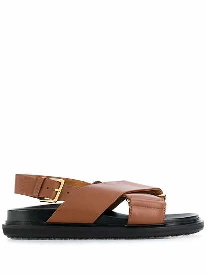 Fussbet sandals with crossed straps