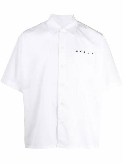 Cuban collar shirt