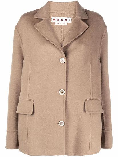 Marni - chaquetón cachemira y lana