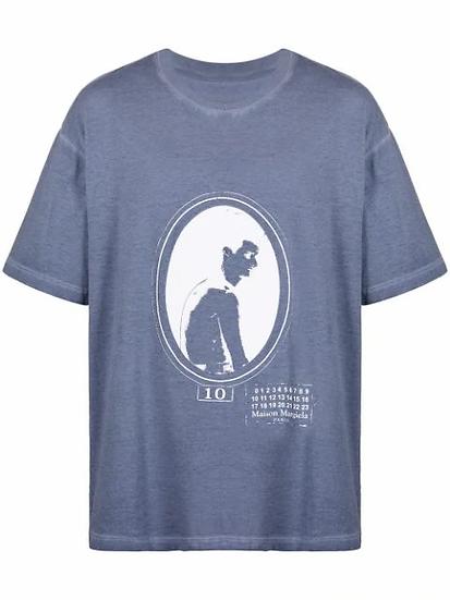 Maison Margiela - t-shirt estampado gráfico